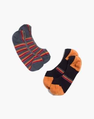 Madewell Two-Pack Rainbow Low-Profile Socks