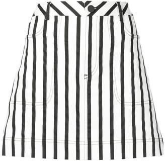 Alice + Olivia Alice+Olivia striped mini skirt