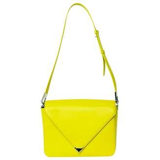 Alexander Wang Prisma Yellow Leather Handbag