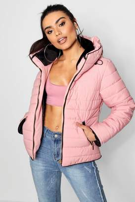 boohoo Quilted Jacket