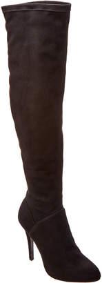 Karen Millen Stretch Suede Over-The-Knee Boot