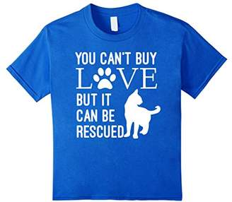 You Can't Buy Love But It Can Be Rescued T-Shirt Cat Rescue