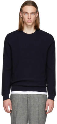 BOSS Navy Erec Sweater