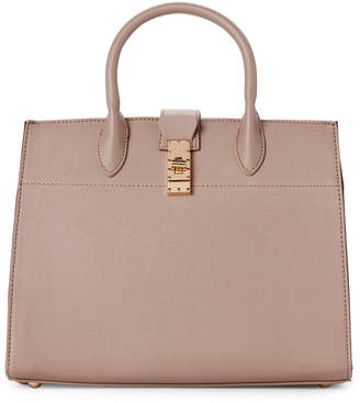Dream Control Taupe Studded Vegan Satchel