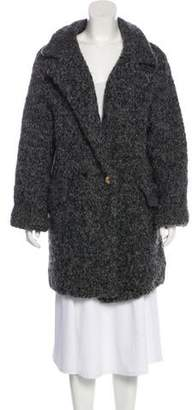 Marc by Marc Jacobs Alpaca-Blend Double-Breasted Coat