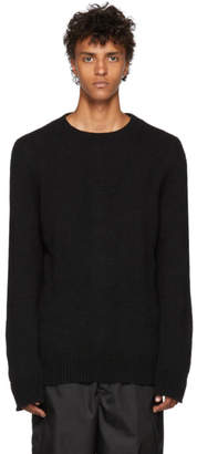 Ann Demeulemeester Black Alpaca Pepito Sweater