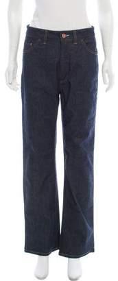 Acne Studios High-Rise Wide-Leg Jeans w/ Tags