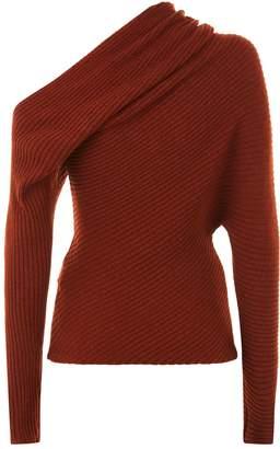 Roberto Cavalli Asymmetric Sweater