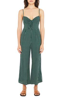 Faithfull The Brand Presley Stripe Tie Front Jumpsuit