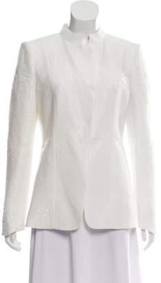 Giorgio Armani Textured Long Sleeve Jacket