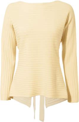 Vince Dolman Tie Back Sweater