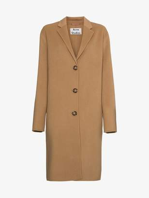 Acne Studios Avalon single breasted coat