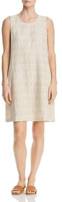 Eileen Fisher Gridded Shift Dress
