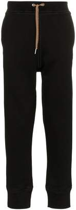 Jil Sander drawstring cotton blend track pants