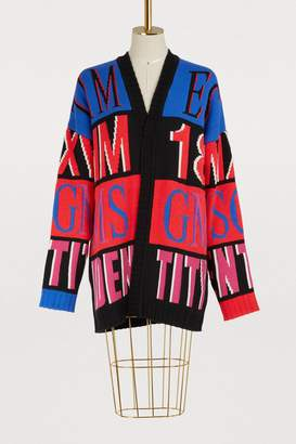 MSGM Oversized cardigan