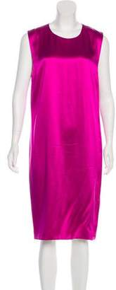 Fausto Puglisi Sleeveless Silk Dress