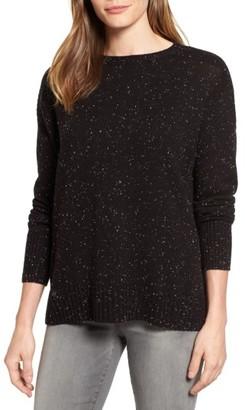 Women's Caslon Back Zip Pullover $59 thestylecure.com