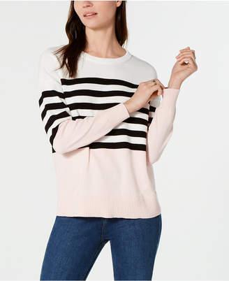 Tommy Hilfiger Cotton Center-Stripe Sweater