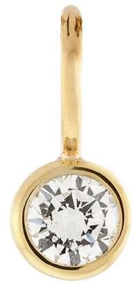 Heather B Moore 4mm Diamond Bezel Charm - Yellow Gold