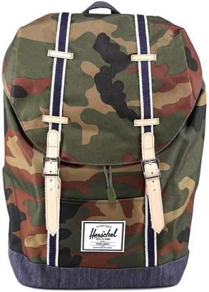 Herschel Retreat Camouflage Print Backpack