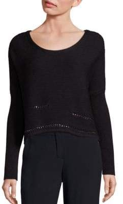 Ramy Brook Chrissy Chain Detail Sweater
