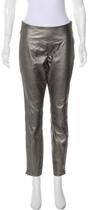 Blank NYC Mid-Rise Faux Leather Leggings
