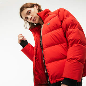 Lacoste Men's LIVE Short Water-Resistant Taffeta Quilted Jacket