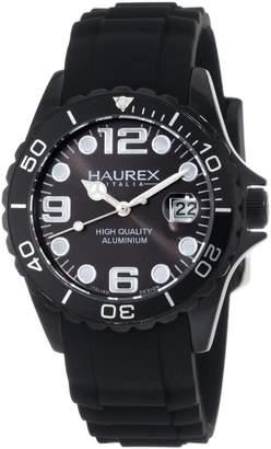 Haurex Italy Women's Ink Rubber Band Aluminum Watch 1K374DNN