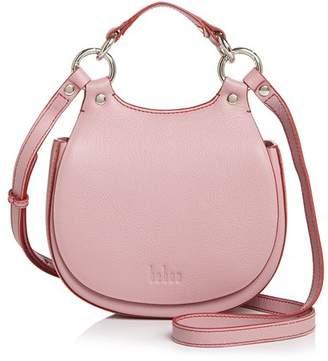 Behno Tilda Mini Leather Crossbody Saddle Bag