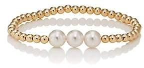 BECK Jewels Women's Becklette Bracelet-Pearl