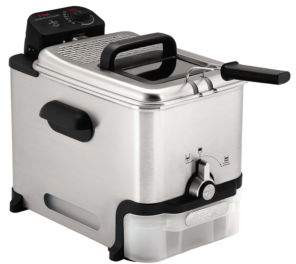 T-Fal FR8000 Stainless Steel Immersion Deep Fryer-3.5 L