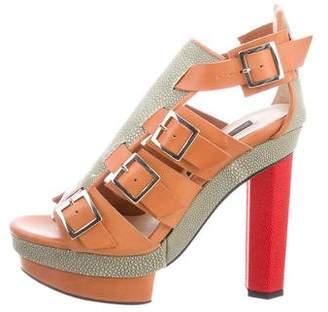 Chrissie Morris Priscilla Cage Sandals w/ Tags