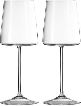 Vera Wang Wedgwood Set Of 2 Metropolitan Wine Glasses