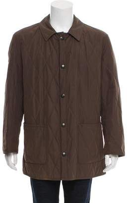 Barneys New York Barney's New York Quilted Car Coat