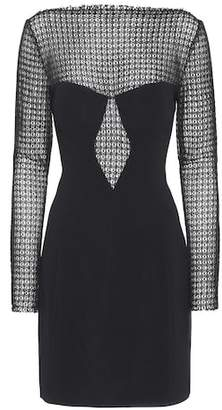 Alexander Wang Long-sleeved crêpe dress