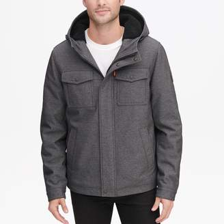 Levi's Levis Men's Sherpa-Lined Softshell Hooded Trucker Jacket