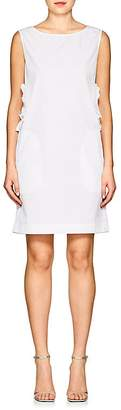Nina Ricci Women's Cutout Cotton Poplin Shift Dress