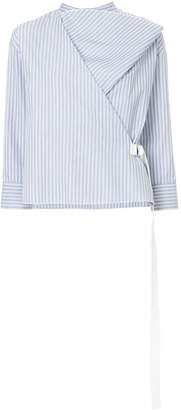 ASTRAET asymmetric long-sleeve top