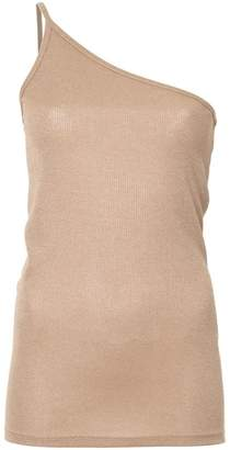 CHRISTOPHER ESBER one-shoulder singlet