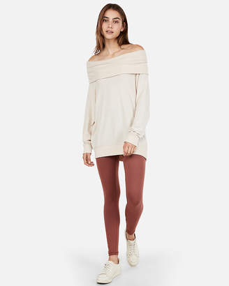 Express One Eleven Cowl Neck Tunic Sweatshirt