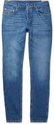Brunello Cucinelli Slim-Fit Denim Jeans - Men - Indigo