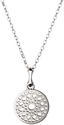 Links of London Small Sterling Silver Timeless Pendant Necklace