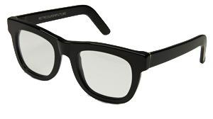 RetroSuperFuture Super Ciccio Black Clear