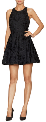 Alice + Olivia Tevin Fit And Flare Party Dress