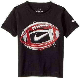Nike Brush Football Cotton Short Sleeve Tee Boy's T Shirt