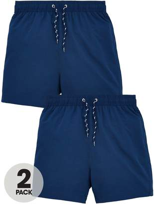 Very Boys 2 Pack Basic Swim Shorts