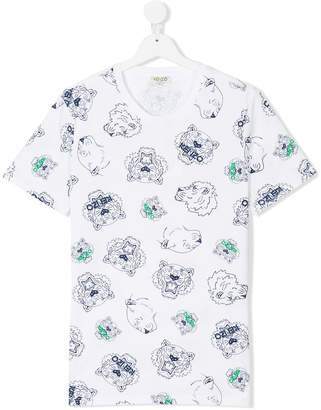 Kenzo Tiger Friends T-shirt