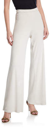 Natori Matte Jersey Easy Wide-Leg Pants