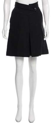 Chanel Tweed A-Line Skirt