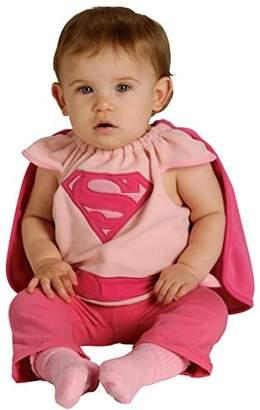Rubie's Costume Co Costume Baby Girl's DC Superheroes Supergirl Deluxe Bib